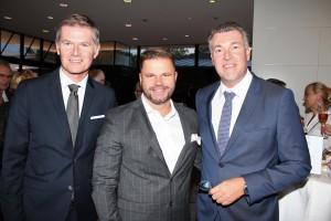 Bernhard Moosbrugger, Thomas Prihoda und Günther Plaickner