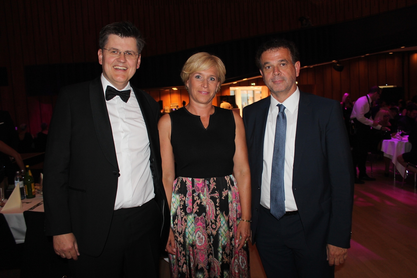 Bernhard und Martina Feigl mit Christoph Jenny