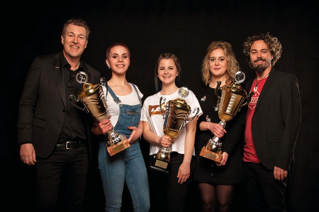 Haarwerk 2018 - Lehrlingswettbewerb Frisöre