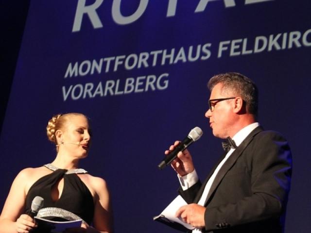 Moderatoren-Duo: Marion Lenz und Gerhard Ölz