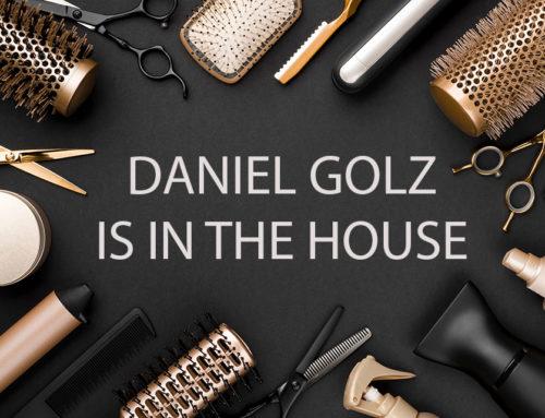 Sei dabei: Erlebe Friseurvlogger Daniel Golz live!