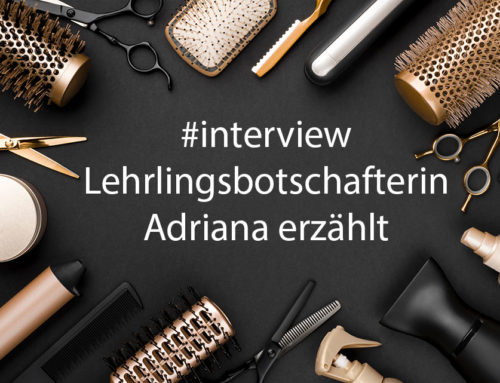 Lehr­lings­bot­schaf­te­rin Adria­na im Inter­view